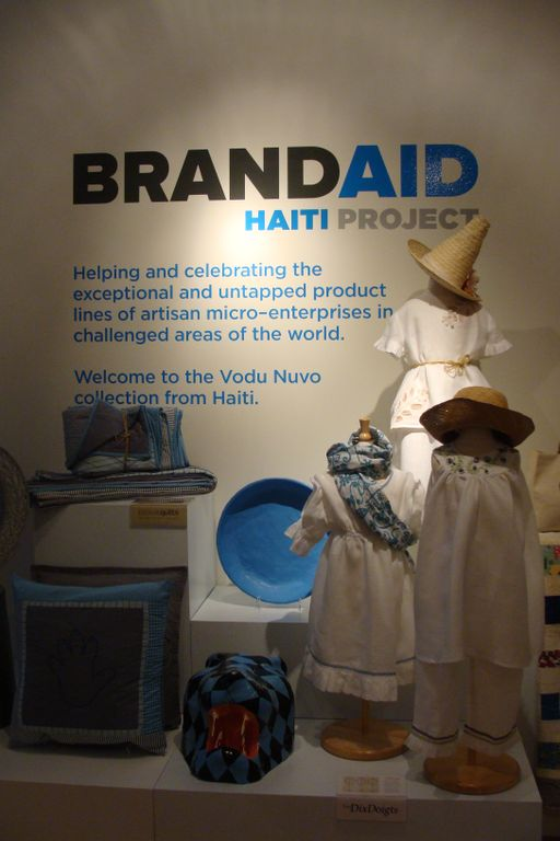 Brand Aid Exhibition  Photo Credit: Rachel MacHenry